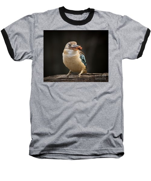 Kookaburra Baseball T-Shirt by Craig Dingle