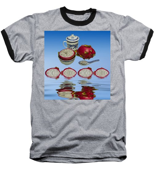 Baseball T-Shirt featuring the photograph Pink Dragon Fruit  by David French