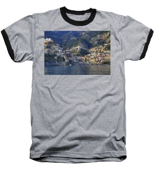 Positano - Amalfi Coast Baseball T-Shirt