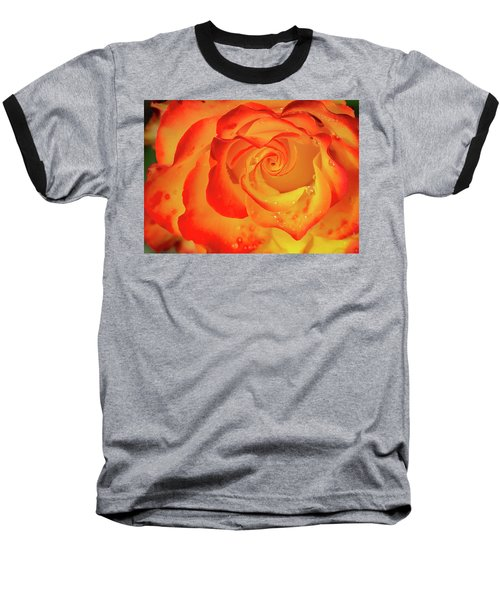 Rose Beauty Baseball T-Shirt