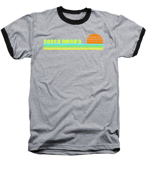 Santa Monica Baseball T-Shirt