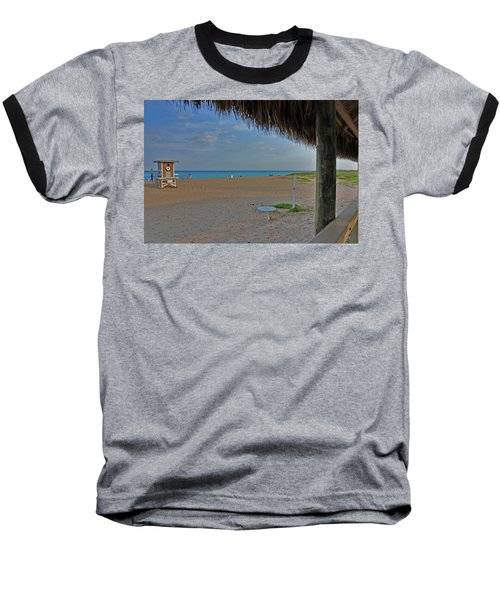 Baseball T-Shirt featuring the photograph 7- Southern Beach by Joseph Keane
