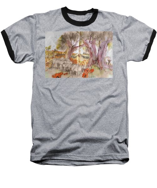 Trees Trees Trees Album Baseball T-Shirt