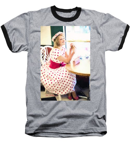 Vintage Val Iced Tea Time Baseball T-Shirt