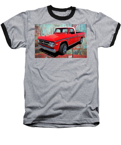 Baseball T-Shirt featuring the photograph '70 Dodge Truck by Victor Montgomery