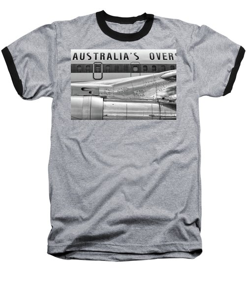 707 Nacelle And Fuselage Baseball T-Shirt