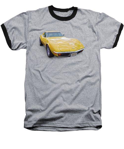 72 Corvette Baseball T-Shirt