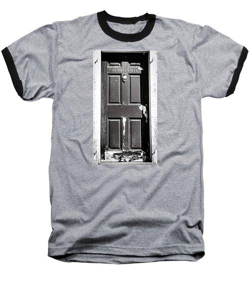 74 North Ave. Baseball T-Shirt by Bruce Carpenter