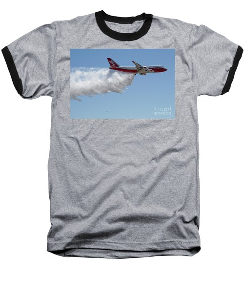 747 Supertanker Drop Baseball T-Shirt