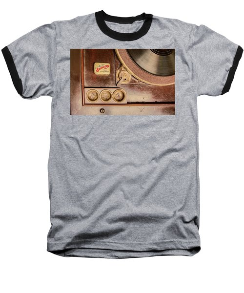 Baseball T-Shirt featuring the photograph 78 Rpm And Accessories by Gary Slawsky