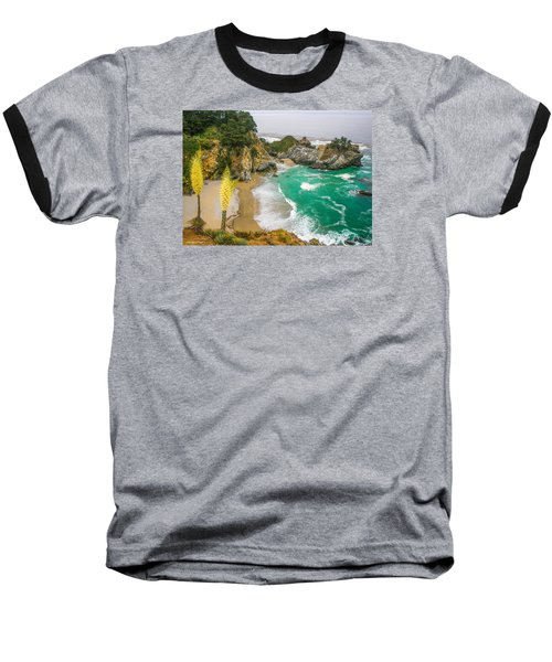 #7842 - Big Sur, California Baseball T-Shirt