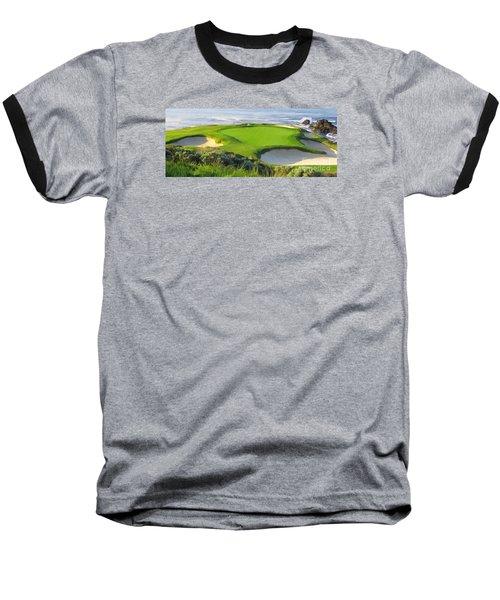 7th Hole At Pebble Beach Hol Baseball T-Shirt