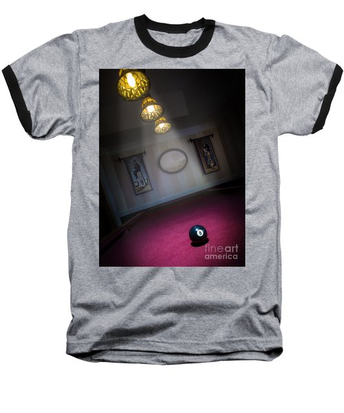 Baseball T-Shirt featuring the photograph 8 Ball by Brian Jones