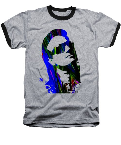 Bono Collection Baseball T-Shirt by Marvin Blaine