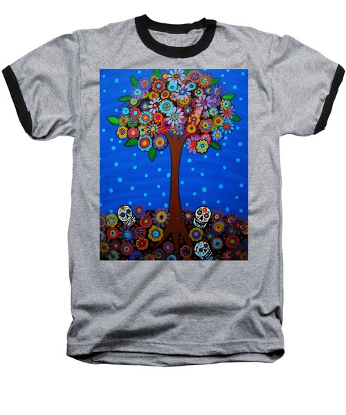 Day Of The Dead Baseball T-Shirt