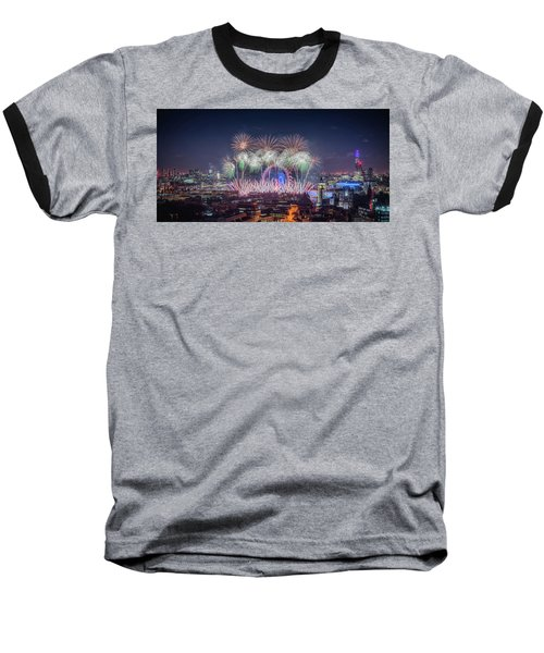 Happy New Year London Baseball T-Shirt