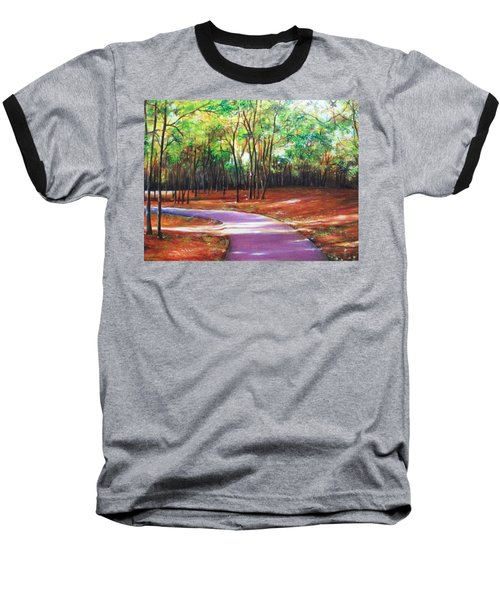Baseball T-Shirt featuring the painting Home by Emery Franklin