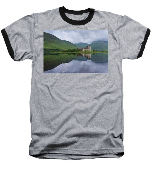 Kilchurn Castle Baseball T-Shirt