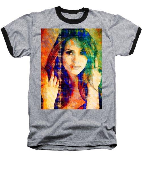 Nina Dobrev Baseball T-Shirt