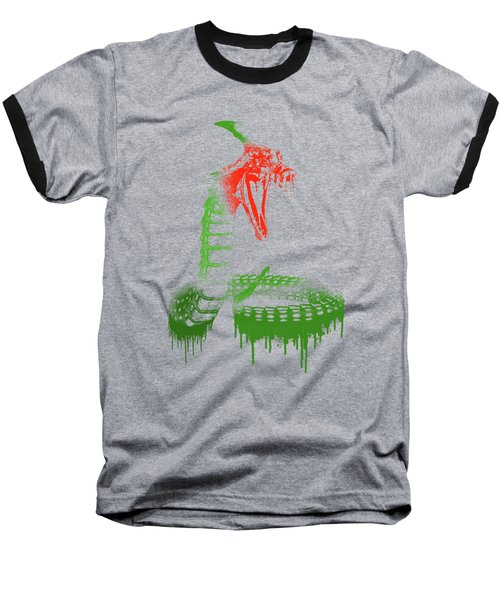 Paint Drips Baseball T-Shirt