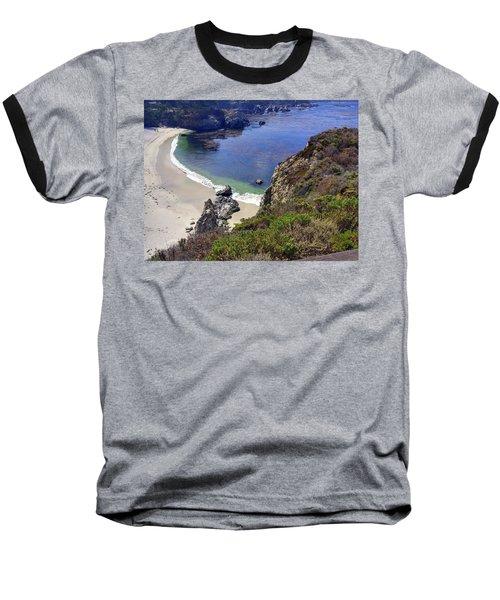 Point Lobos Beach Baseball T-Shirt