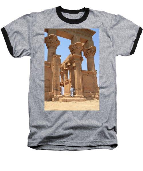 Temple Of Isis Baseball T-Shirt by Silvia Bruno
