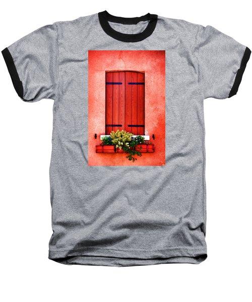 Venice - Untitled Baseball T-Shirt by Brian Davis