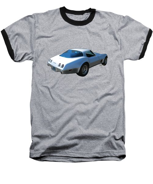 82 Corvette Generation C3 1968 To 1982 Baseball T-Shirt