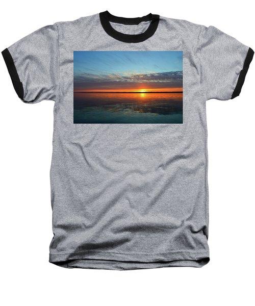 8.57 Pm June 8-2017  Baseball T-Shirt by Lyle Crump
