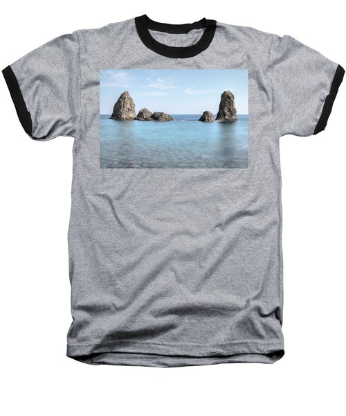 Aci Trezza - Sicily Baseball T-Shirt