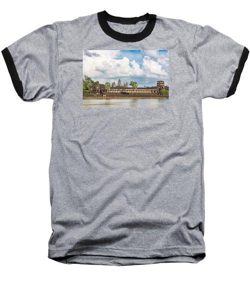 Angkor Wat In Cambodia Baseball T-Shirt