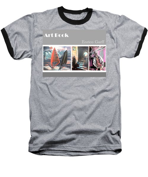 Art Book Baseball T-Shirt
