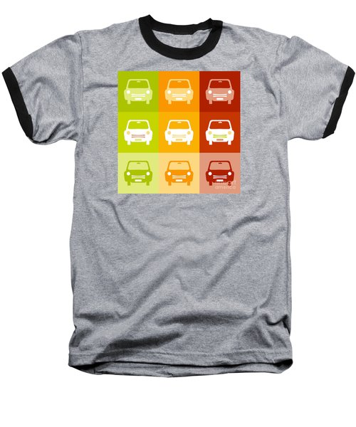 9 Cars Baseball T-Shirt