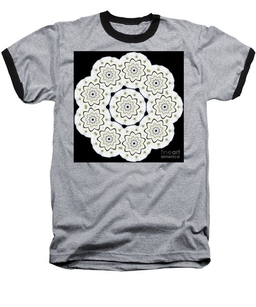 9-pointed Orchid Star Baseball T-Shirt