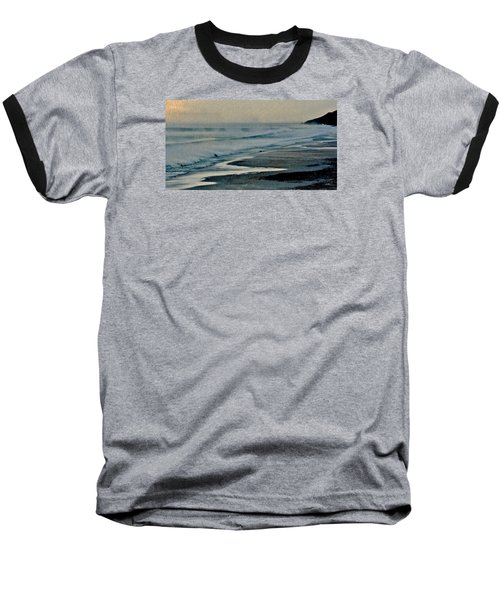 Stormy Morning At The Sea Baseball T-Shirt by Werner Lehmann