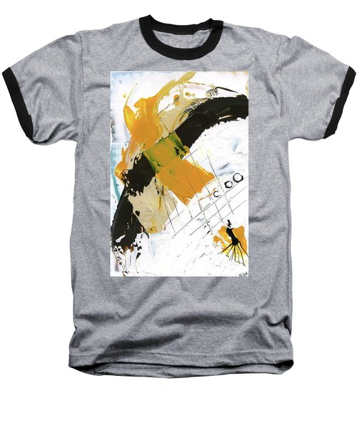 Three Color Palette Baseball T-Shirt by Michal Mitak Mahgerefteh