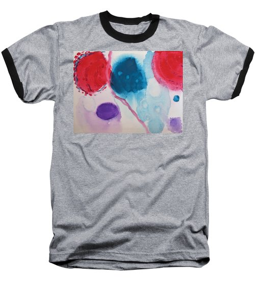 Untitled Baseball T-Shirt by Tamara Savchenko