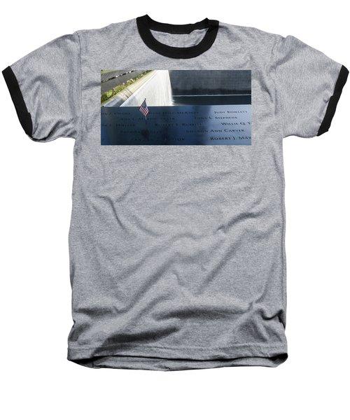 911 Memorial Pool-6 Baseball T-Shirt