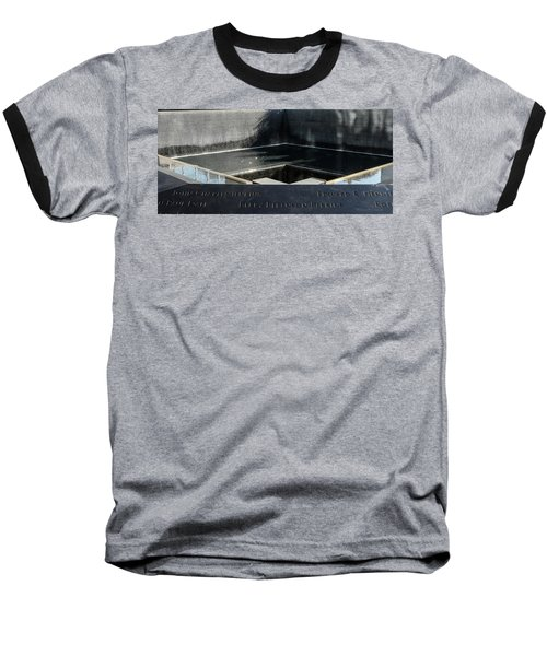 911 Memorial Pool-8 Baseball T-Shirt