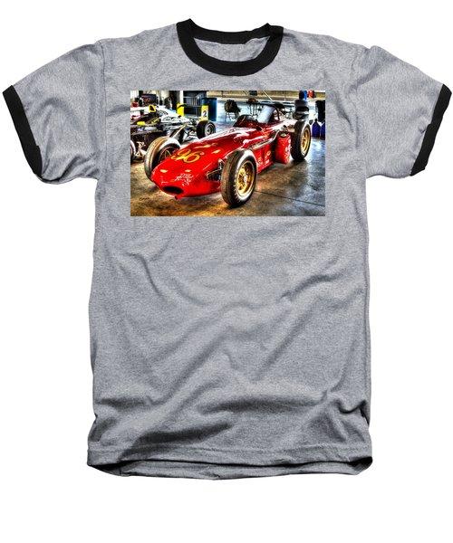 1961 Elder Indy Racing Special Baseball T-Shirt by Josh Williams