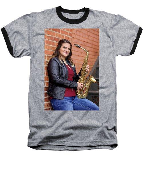 9g5a9450_e Baseball T-Shirt by Sylvia Thornton