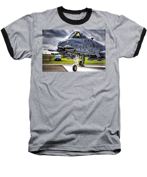 A-10 Thunderbolt  Baseball T-Shirt