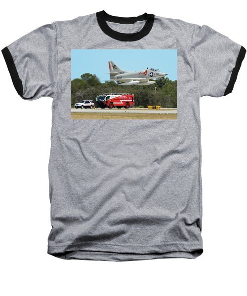 A-4 / Firetruck Baseball T-Shirt