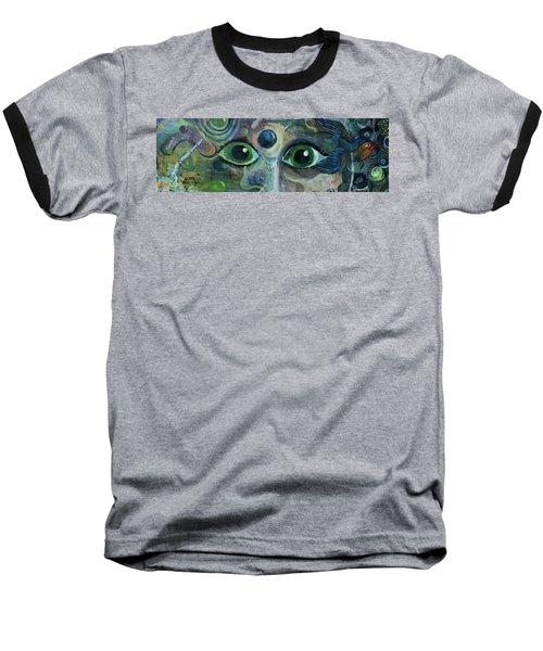 A Astronaut Dreams Of Her Infinite Cosmos Baseball T-Shirt