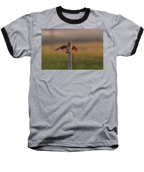 A Balancing Act Baseball T-Shirt