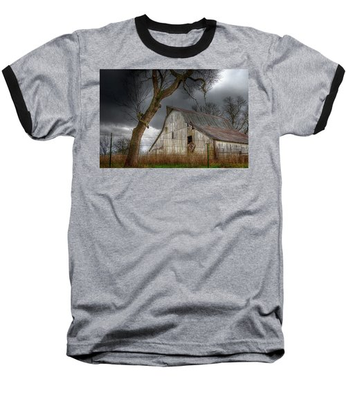 A Barn In The Storm 2 Baseball T-Shirt