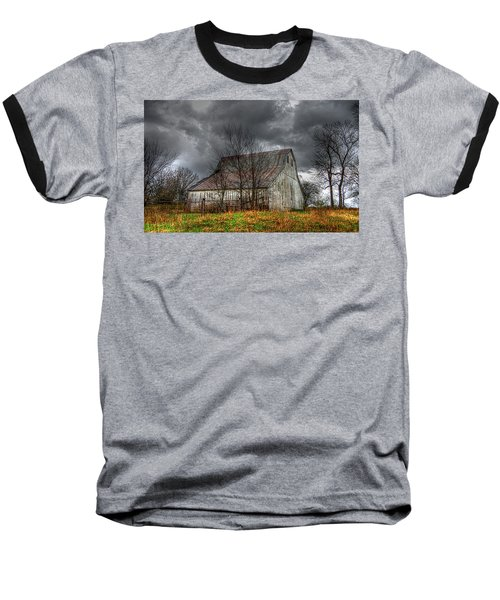 A Barn In The Storm 3 Baseball T-Shirt