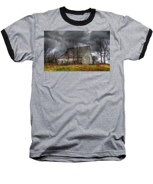 A Barn In The Storm 3 Baseball T-Shirt