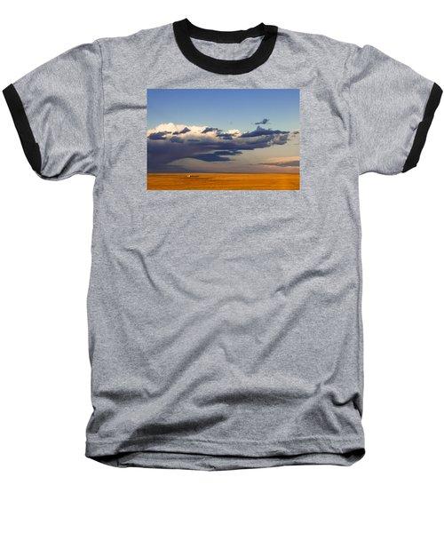 A Barn On The Prairie Baseball T-Shirt