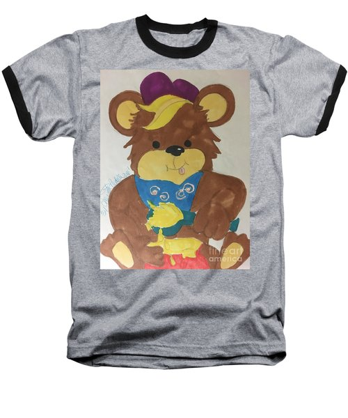 A Bear Loves Honey Baseball T-Shirt